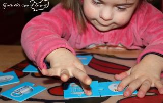 gioco da tavolo Combi puzzle per bambini