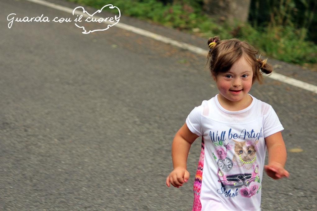 La gioia dei bambini con sindrome di Down