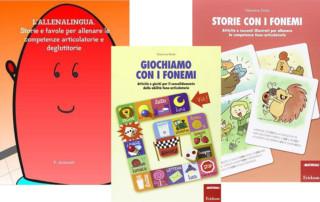Libri e giochi per le competenze fono articolatorie