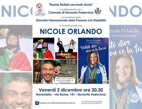 Incontro con l'autore: Nicole Orlando