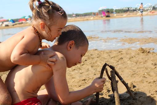 in spiaggia con la febbre
