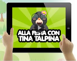 Alla festa con Tina Talpina