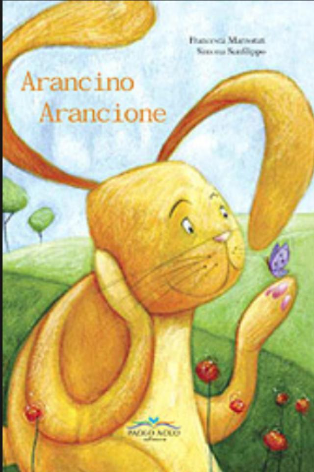 Arancino Arancione libro per bambini