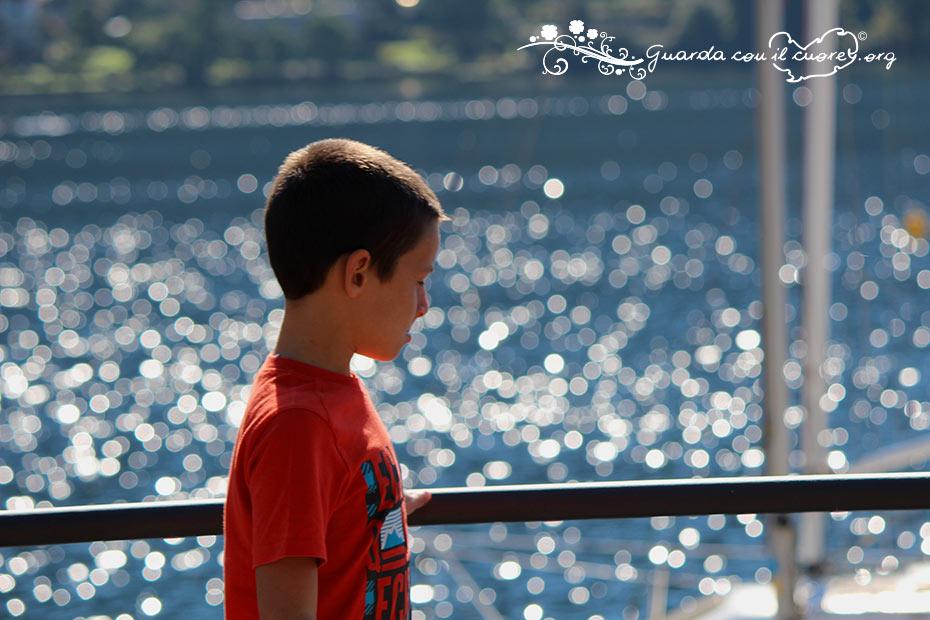 bambini al mare con i nonni