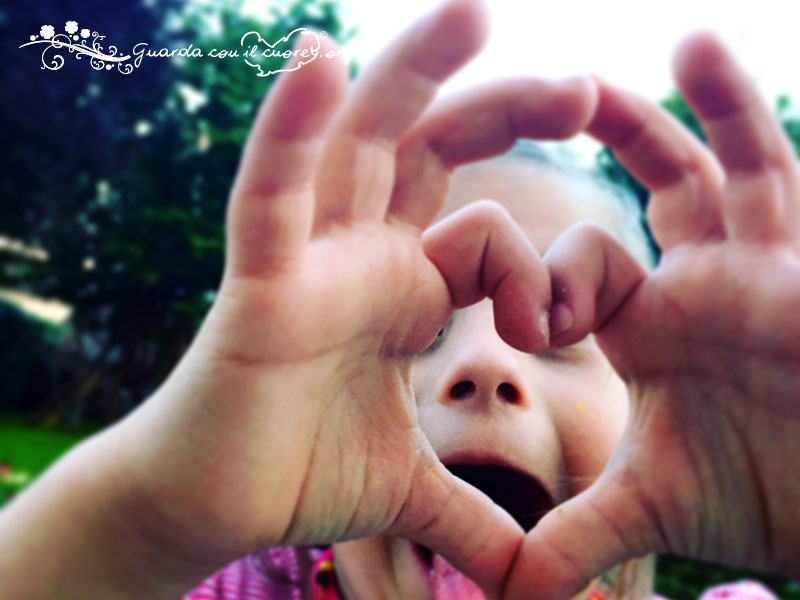 guarda con il cuore
