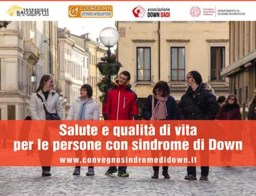 Convegno Fondazione Baccichetti e Associazione Down Dadi