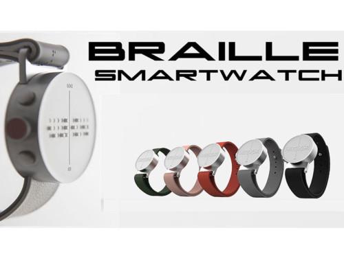 Dot, il primo smartwatch per non vedenti