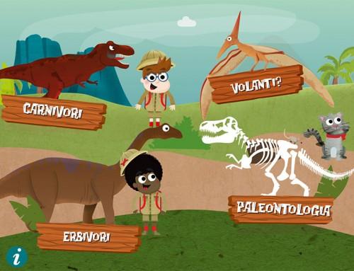 Com' erano i dinosauri? – app